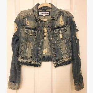 Express Denim Jacket size xs